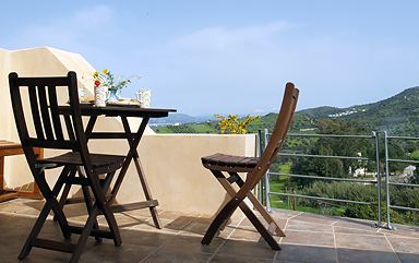 Agapi Holiday House terrace